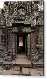 Ta Prohm Temple, Angkor, Cambodia Acrylic Print
