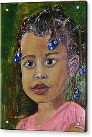 Acrylic Print featuring the painting Tabitha by MaryAnne Ardito