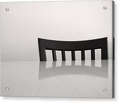 Table And Chair Acrylic Print