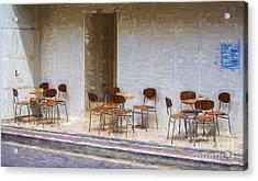 Table For Four Acrylic Print