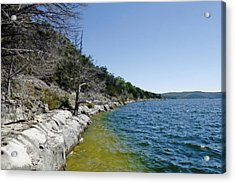 Table Rock Lake Shoreline Acrylic Print