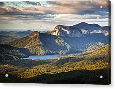 Table Rock Sunrise - Caesars Head State Park Landscape Acrylic Print