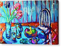 Table Setting  Acrylic Print