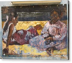 Taboga History Painting Acrylic Print