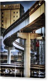 Tachikawa Monorail I Acrylic Print by Rscpics