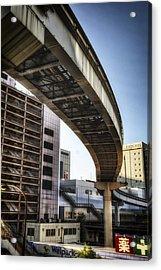 Tachikawa Monorail II Acrylic Print by Rscpics