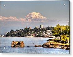Tacoma City Skyline Acrylic Print