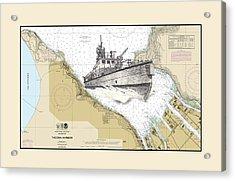 Tacoma Fireboat Acrylic Print by Jack Pumphrey