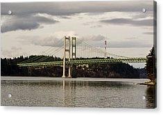 Tacoma Narrows Bridge II Acrylic Print by Ron Roberts