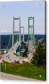 Tacoma Narrows Bridge Acrylic Print