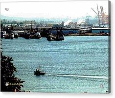 Tacoma Tugboat  Acrylic Print