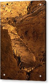 Taconnaz Glacier Acrylic Print by Duncan Shaw