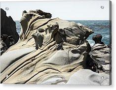 Tafoni Globe And Diagonal Crevices Acrylic Print by Studio Janney