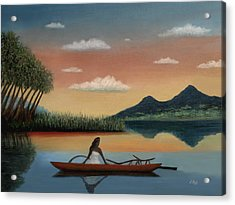Tahitian Morning Acrylic Print