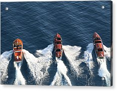 Classic Wooden Runabouts Acrylic Print
