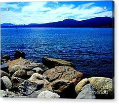 Acrylic Print featuring the photograph Tahoe Magic by Bobbee Rickard