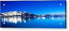 Acrylic Print featuring the photograph Tahoe Reflection by Mike Lee