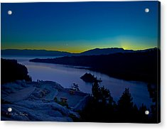 Acrylic Print featuring the photograph Tahoe Sunrise by Jim Thompson