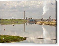 Tailings Pond Syncrude Tar Sands Mine Acrylic Print