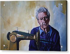 Tailor From Tel-aviv Acrylic Print by Marwan  Khayat