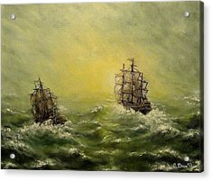 Tailwind Acrylic Print by Svetla Dimitrova