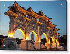 Taipei Chiang Kai-shek Memorial Acrylic Print