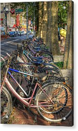 Taiwan Bikes Acrylic Print