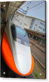Taiwan Bullet Train Acrylic Print