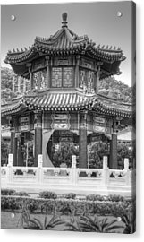 Taiwan Gazebo Acrylic Print