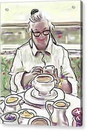 Taj Breakfast Acrylic Print