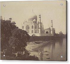 Taj Mahal Acrylic Print by British Library
