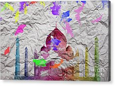 Taj Mahal Acrylic Print by Image World