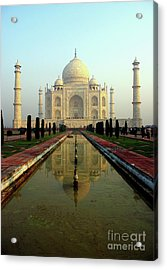 Acrylic Print featuring the photograph Taj Mahal by Jacqi Elmslie