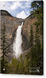 Acrylic Print featuring the photograph Takakkaw Falls by Chris Scroggins