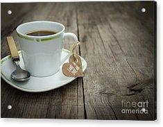 Take A Break Coffee Cup Acrylic Print