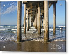 Take A Break Acrylic Print by Tammy Espino