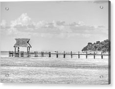 Take A Long Walk Off A Short Pier Acrylic Print