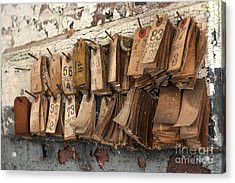 Take A Number Acrylic Print