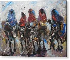 Take A Ride Acrylic Print by Negoud Dahab