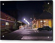 Take A Ride On Amtrak Acrylic Print