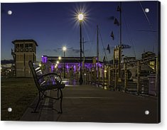 Take A Seat And Enjoy The View Acrylic Print by Brian Wright