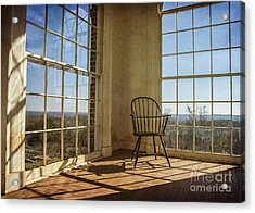 Take A Seat Acrylic Print by Terry Rowe