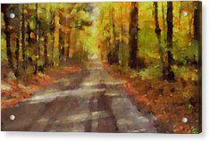 Take Me Home Country Roads Acrylic Print by Dan Sproul
