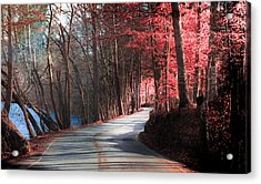Take Me Home Country Roads Acrylic Print by Karen Wiles
