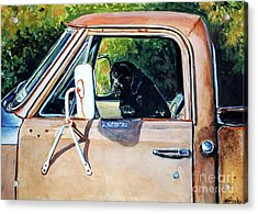 Take Me With You Acrylic Print by Molly Poole