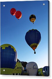 Acrylic Print featuring the photograph Take Off by John Swartz