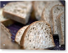Take This Bread And Eat It Acrylic Print