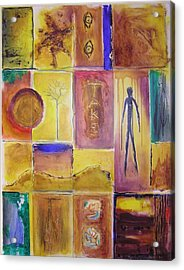 Acrylic Print featuring the painting Take Time by Jocelyn Friis