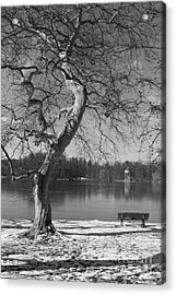 Acrylic Print featuring the photograph Take Your Time  by Juergen Klust