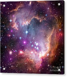 Acrylic Print featuring the  Taken Under The Wing Of The Small Magellanic Cloud by Paul Fearn